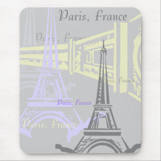 Eiffel Tower Mouse Pad