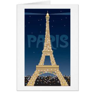 Eiffel Tower note card