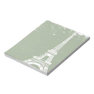 Eiffel Tower Notepad