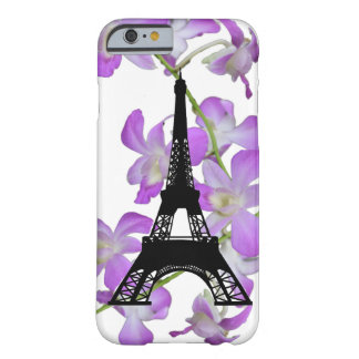 Eiffel Tower Orchids Barely There iPhone 6 Case