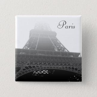 Eiffel tower Paris 2 Inch Square Button