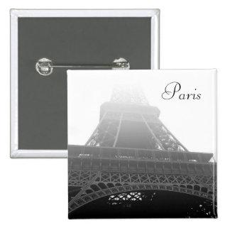 Eiffel tower, Paris 2 Inch Square Button
