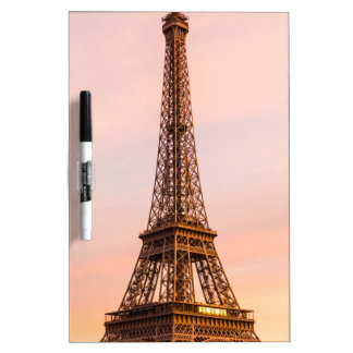 Eiffel Tower, Paris at Sunset Dry-Erase Whiteboards