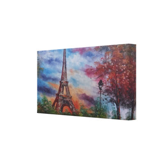 Eiffel Tower Paris Canvas Print