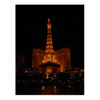 Eiffel Tower, Paris Casino, Las Vegas, NV Postcard