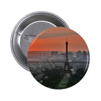 Eiffel Tower Paris Europe Travel 2 Inch Round Button
