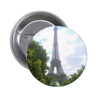 Eiffel Tower, Paris France 2 Inch Round Button