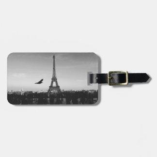 Eiffel Tower Paris, France Bag Tag