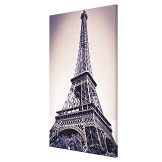 Eiffel tower, Paris, France Canvas Print