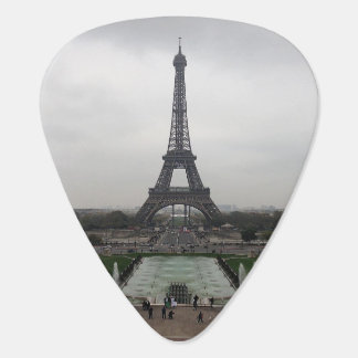 Eiffel Tower, Paris, France Guitar Pick
