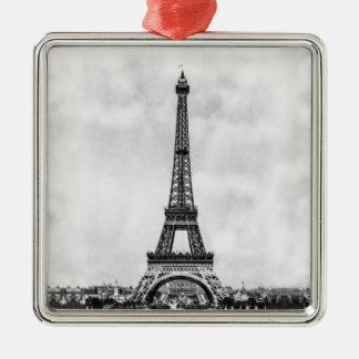 Eiffel Tower Paris France Metal Ornament