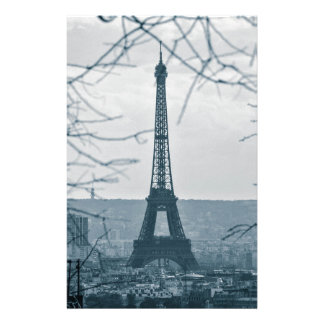 Eiffel Tower, Paris, France Stationery