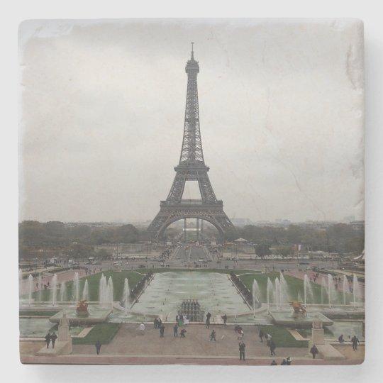 Eiffel Tower, Paris, France Stone Beverage Coaster