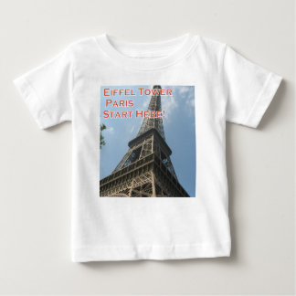 Eiffel Tower Paris France Summer 2016 French Baby T-Shirt