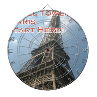 Eiffel Tower Paris France Summer 2016 French Dartboard