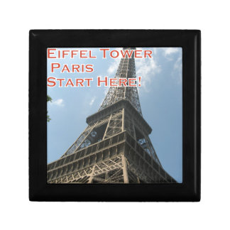 Eiffel Tower Paris France Summer 2016 French Gift Box
