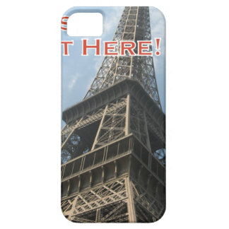 Eiffel Tower Paris France Summer 2016 French iPhone 5 Cover