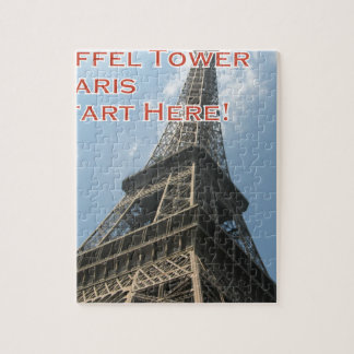 Eiffel Tower Paris France Summer 2016 French Jigsaw Puzzle