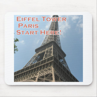 Eiffel Tower Paris France Summer 2016 French Mouse Pad