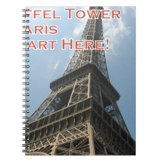 Eiffel Tower Paris France Summer 2016 French Notebooks