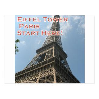 Eiffel Tower Paris France Summer 2016 French Postcard