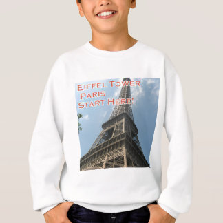 Eiffel Tower Paris France Summer 2016 French Sweatshirt
