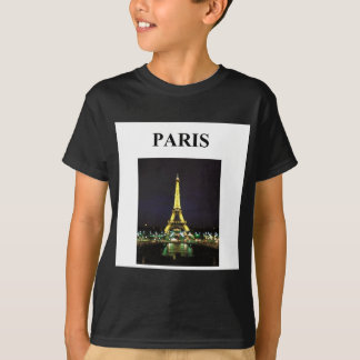 eiffel tower paris france T-Shirt