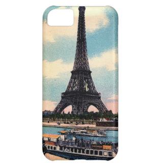 Eiffel Tower Paris France Vintage Travel iPhone 5C Case
