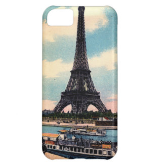 Eiffel Tower Paris France Vintage Travel iPhone 5C Covers