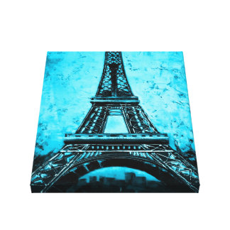 Eiffel Tower Paris France wrapped canvas art 2