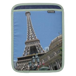Eiffel Tower Paris Hote Las Vegas Ipad Sleeve