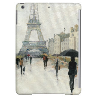 Eiffel Tower | Paris In The Rain Cover For iPad Air
