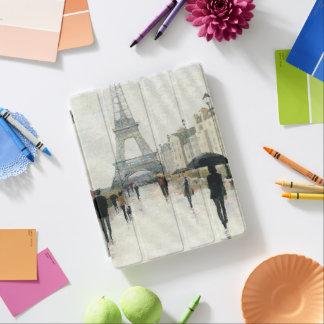 Eiffel Tower | Paris In The Rain iPad Cover