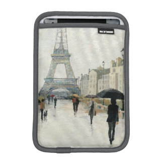 Eiffel Tower | Paris In The Rain iPad Mini Sleeves