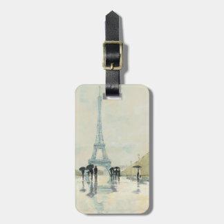 Eiffel Tower | Paris In The Rain Luggage Tag