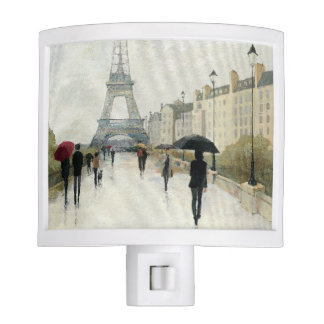 Eiffel Tower | Paris In The Rain Night Lights
