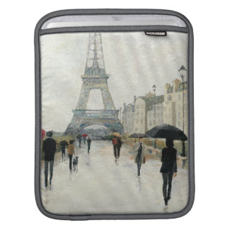 Eiffel Tower | Paris In The Rain Sleeve For iPads