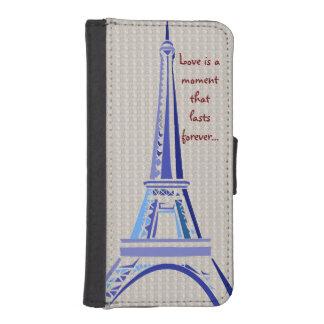 Eiffel Tower-Paris iPhone SE/5/5s Wallet Case