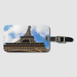 Eiffel Tower, Paris luggage tag