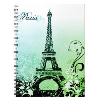 Eiffel Tower Paris Notebook