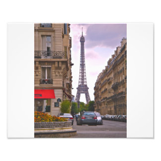 Eiffel Tower Paris Photo Print