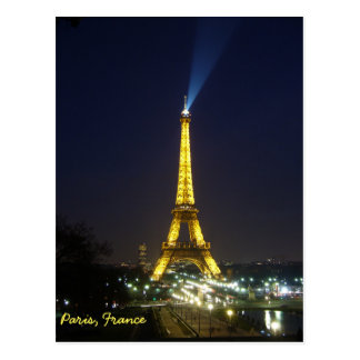 Eiffel Tower, Paris Poscard Postcard