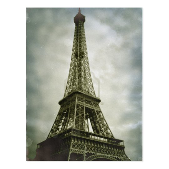 Eiffel Tower Paris Postcard