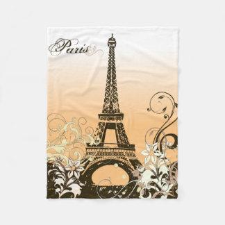 Eiffel Tower Paris Small Fleece Blanket