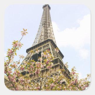 Eiffel Tower, Paris Square Sticker
