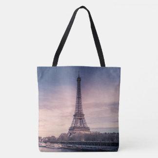 Eiffel Tower Paris Tote Bag