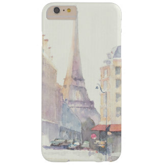 Eiffel Tower | Paris Watercolor Barely There iPhone 6 Plus Case