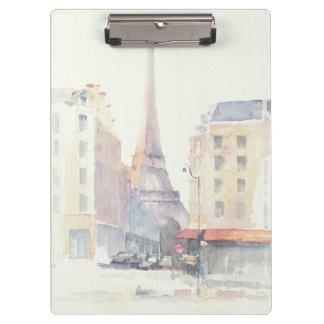 Eiffel Tower | Paris Watercolor Clipboard
