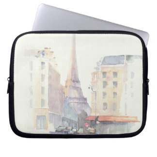Eiffel Tower | Paris Watercolor Laptop Sleeve