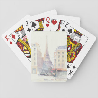 Eiffel Tower | Paris Watercolor Playing Cards